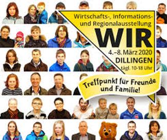WIR 2020 - Wirtschafts-, Informations- und Regionalausstellung in Dillingen